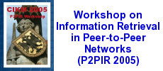 P2PIR workshop